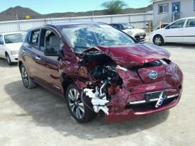 Salvage Nissan LEAF